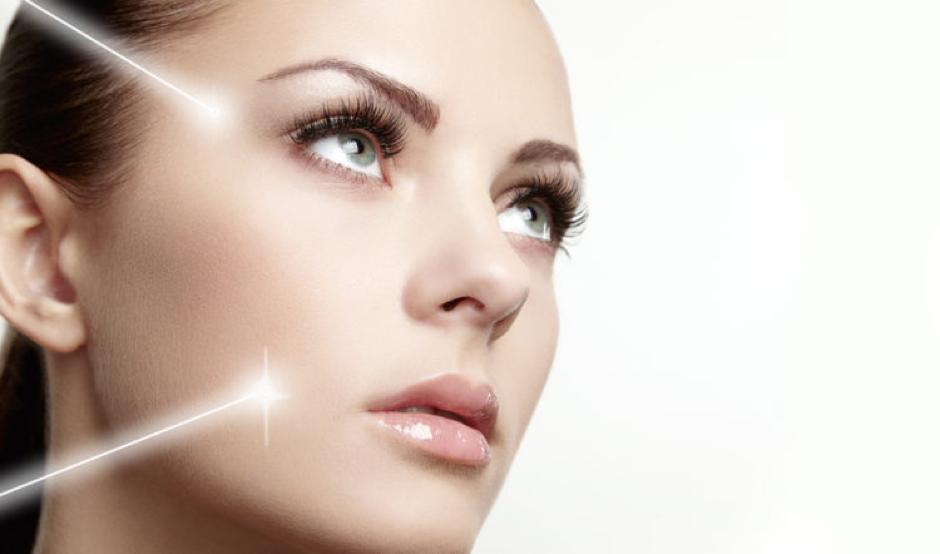Nd:YAG laser treatment